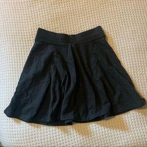 Dark grey skater skirt